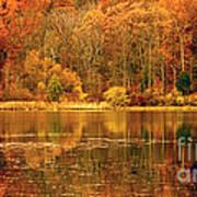 Autumn In Mirror Lake Art Print