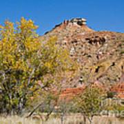 Autumn In Palo Duro Canyon 110213.119 Art Print
