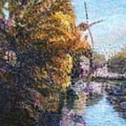 Autumn In Schiedam Art Print