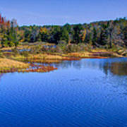 Autumn In The Adirondacks II Art Print