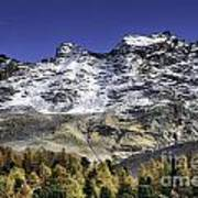Autumn In The Alps 1 Art Print