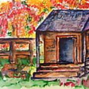 Autumn In The Backwoods Art Print