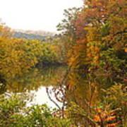 Autumn In The Butternut Valley-five Art Print