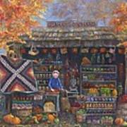 Autumn In The Ozarks Art Print