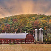 Autumn In Wellsboro Art Print