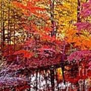 Autumn Is Too Hot Art Print