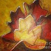 Autumn Leaves 2 Art Print