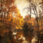 Autumn Lingers Art Print