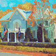 Autumn Magic Claiborne House Art Print