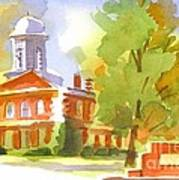 Autumn Observations Watercolor Art Print