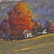 Autumn On Airyhill Art Print