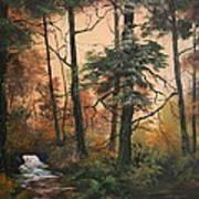 Autumn On Cannock Chase Art Print