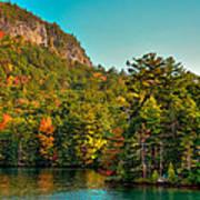 Autumn On Lake George Art Print