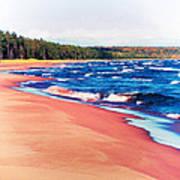 Autumn On Lake Superior Art Print