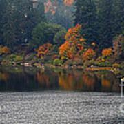Autumn On The Umpqua Print by Suzy Piatt
