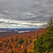 Autumn On Top Of Mccauley Mountain Art Print