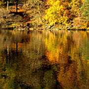 Autumn On Ullswater Art Print