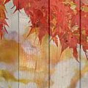 Autumn Outdoors 2 Of 2 Art Print