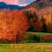 Autumn Pasture Art Print