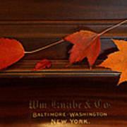 Autumn Piano 3 Art Print