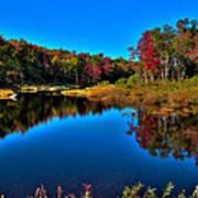 Autumn Reflections In The Adirondacks Art Print