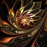 Autumn Reverie Abstract Art Print