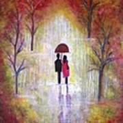 Autumn Romance Art Print