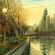 Autumn Serenity II Art Print