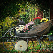 Autumn Sleigh Art Print