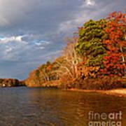 Autumn Storm Approaching Art Print