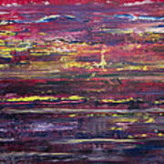 Autumn Sunset Along I-70 Art Print