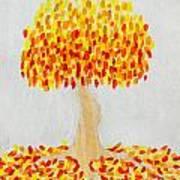 Autumn Tree Art Print