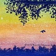Autumn Twilight Art Print