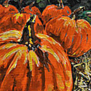 Autumn Art Print by Vickie Warner