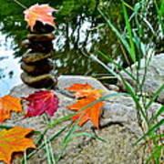 Autumn Zen Art Print