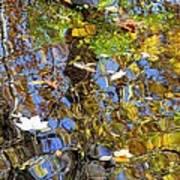 Autumnal Abstracious Art Print
