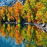 Autumn's Beauty Reflected Art Print