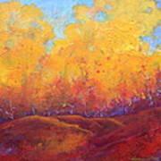 Autumn's Blaze Art Print