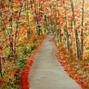 Autumn's moment Art Print