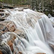 Avalanche Falls - White Mountains New Hampshire Usa Art Print