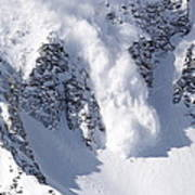 Avalanche I Art Print by Bill Gallagher