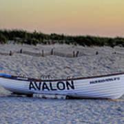 Avalon Lifeboat Art Print