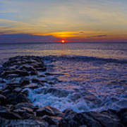 Avalon New Jersey Sunrise Art Print
