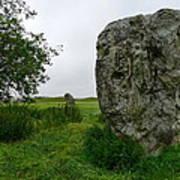 Avebury Megalith Art Print