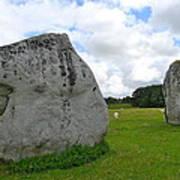Avebury Megaliths Art Print