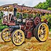 Aveling And Porter Showmans Tractor Art Print