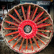 Avery Tractor Tire Art Print