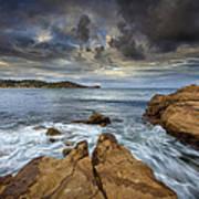 Avoca Beach Art Print by Steve Caldwell