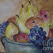 Avonelle's Fruit Bowl Art Print
