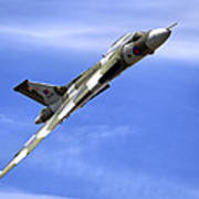 Avro Vulcan B2 Xh558 G-vlcn Art Print